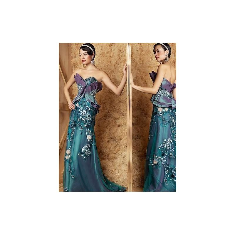 Macduggal Couture Old Hollywood Evening Dress 78504d Brand Prom