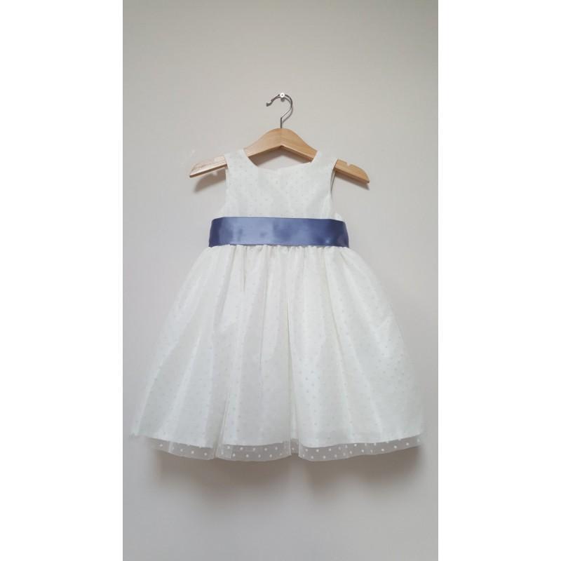 Wedding - Darcy Flowergirl dress, ivory flowergirl dress, flower girl dresses, bridesmaids, christening dress, - Hand-made Beautiful Dresses