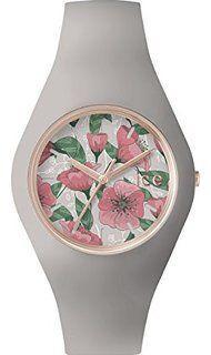 Mariage - ICE-Watch - ICE.FL.EDE.U.S.15 - Ice Flower - Eden - Montre Femme - Quartz Analogique - Cadran Vert - Bracelet Silicone Vert: Amazon.fr: Montres