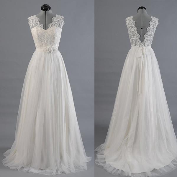Стильное свадебное платье своими руками 24