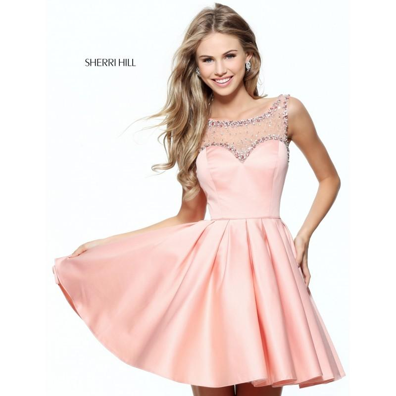 sherri hill 50962 prom dress a line prom sherri hill