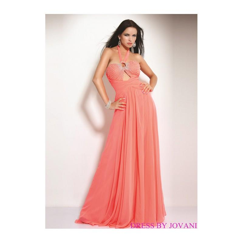 زفاف - New Arrival Jovani Prom Dress  (P-1318A) - Crazy Sale Formal Dresses