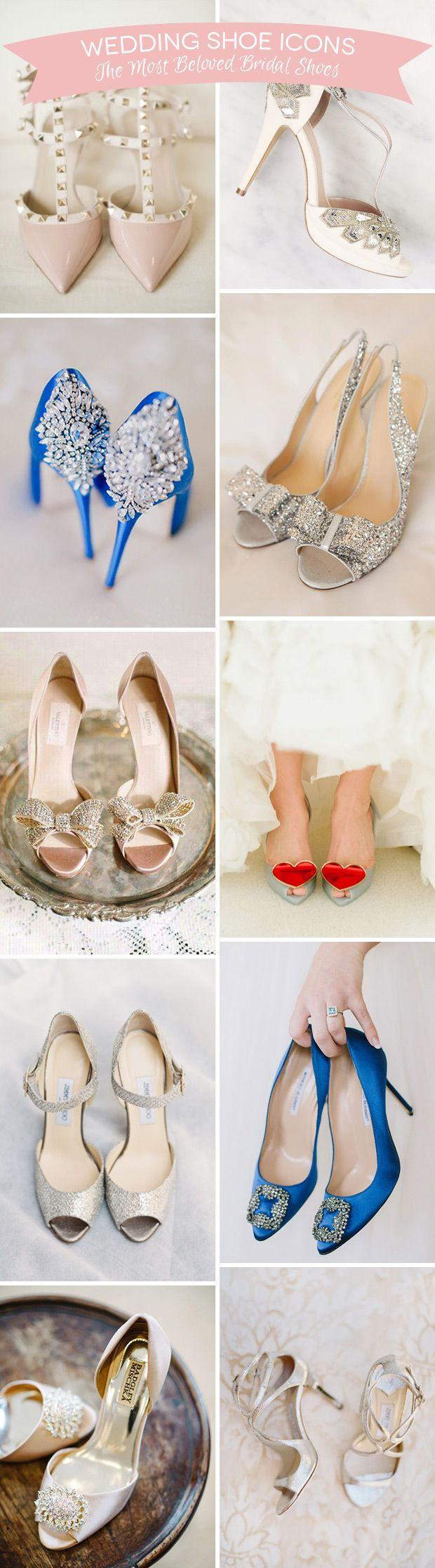 Mariage - Shoe Icons - The Top 10 Most Popular Wedding Shoes Ever