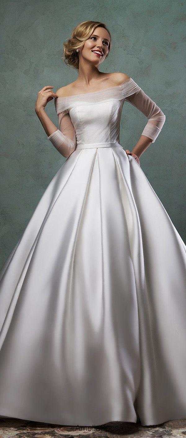 Wedding - Amelia Sposa Wedding Dresses 2016 Collection