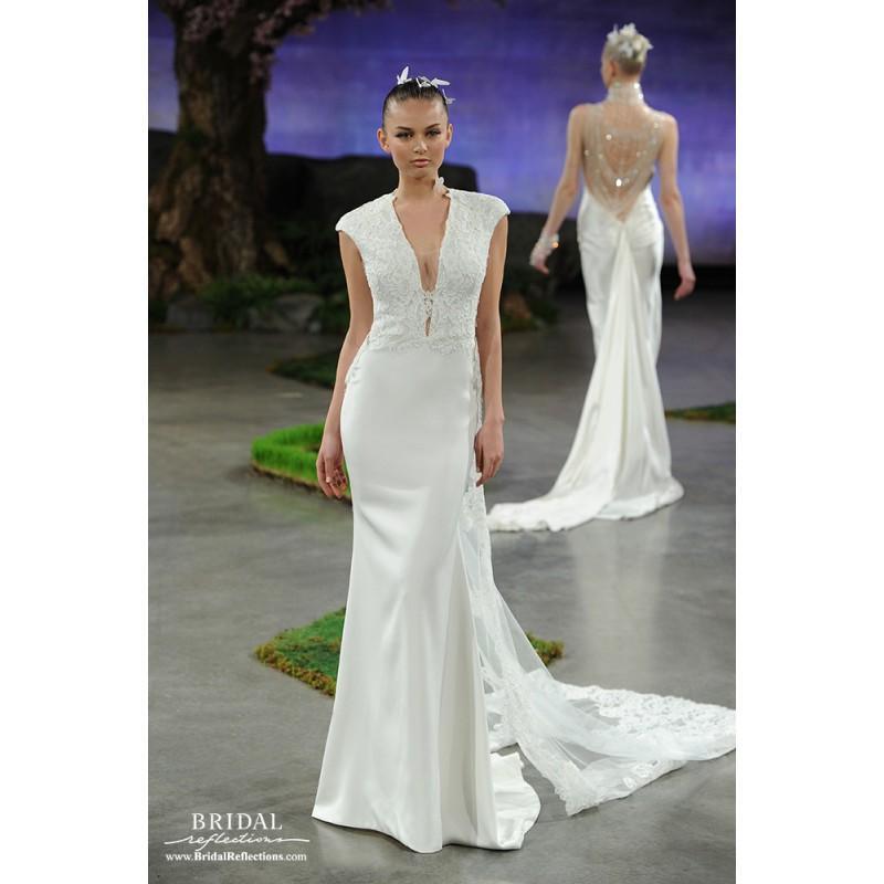 Mariage - Ines Di Santo Brooke - Burgundy Evening Dresses