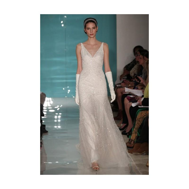 Wedding - 1920s-Inspired Wedding Dresses - Reem Acra - Stunning Cheap Wedding Dresses