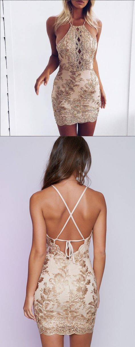 Mariage - Sexy Sheath Sequins Mini Party Dress From Modsele
