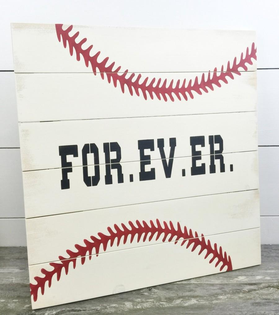 Baseball Wedding Guest Book - Wedding Guest Book - Rustic Guest Book ...