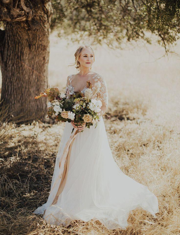 Wedding - Moody Figueroa Mountain Wedding With Copper   Gold Tones