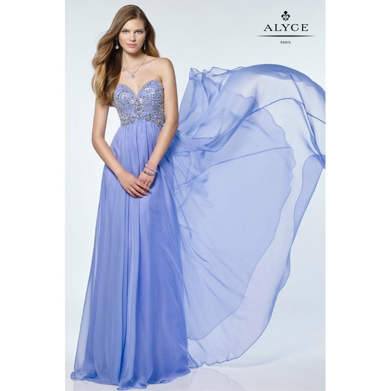 Свадьба - Blue Alyce Prom 6682-17 Alyce Paris Prom - Top Design Dress Online Shop
