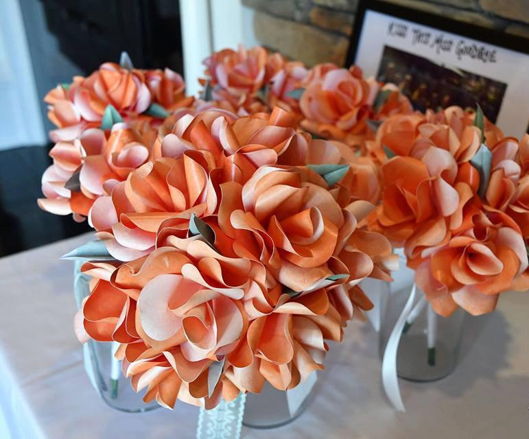 Свадьба - Paper Bouquet