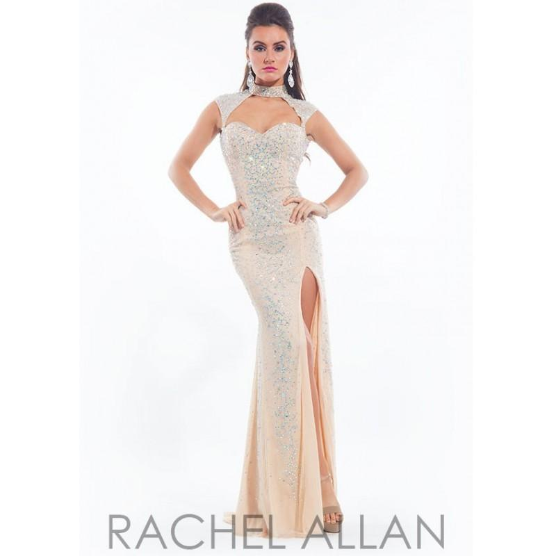 Свадьба - Rachel Allan 6938 Jeweled Collar Evening Gown SALE - 2017 Spring Trends Dresses