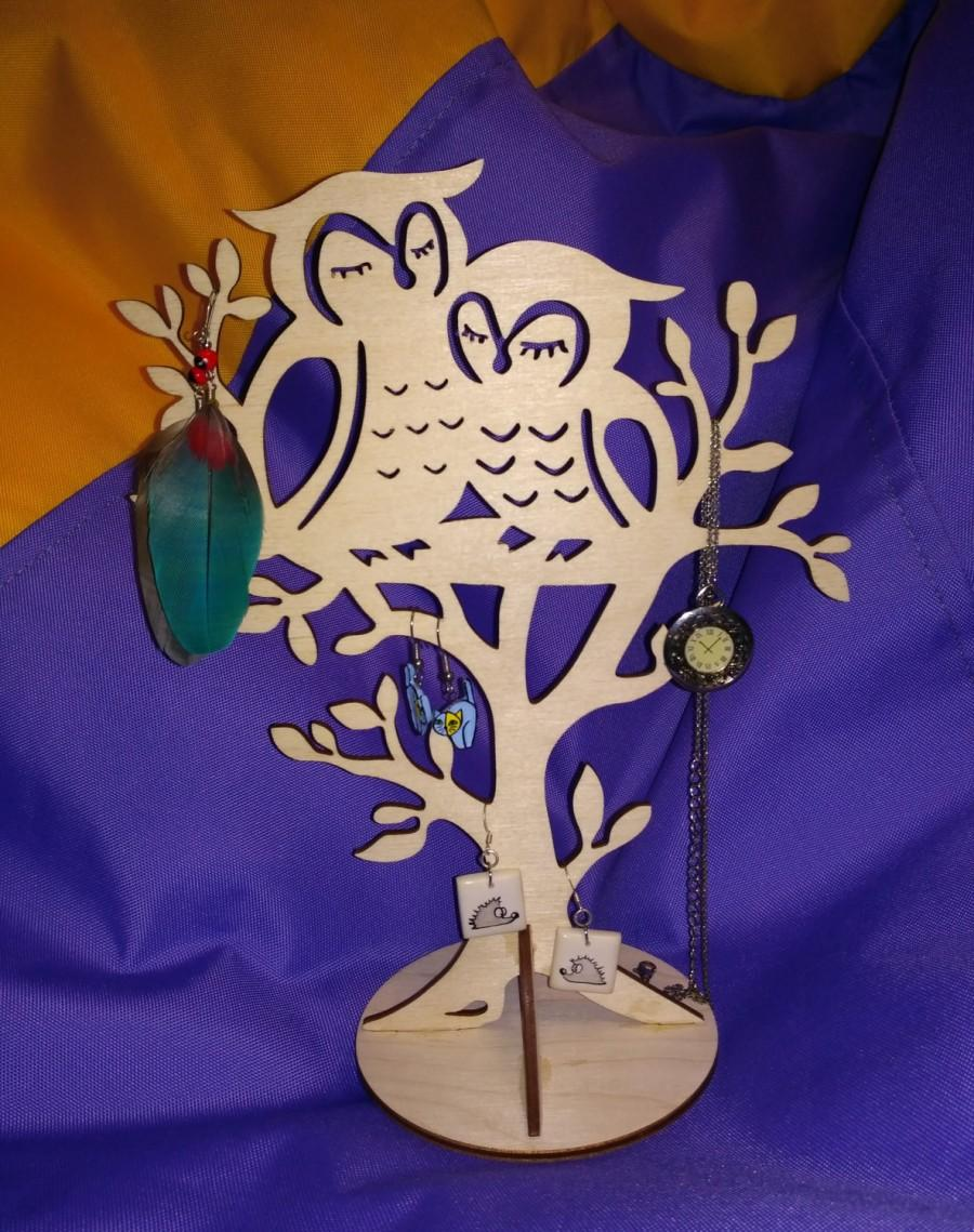 Mariage - Stand for jewelry  Jewelry tree Home decorations Stand for earrings Stand for bracelets Romantic gift  Cute gift  Gift for her