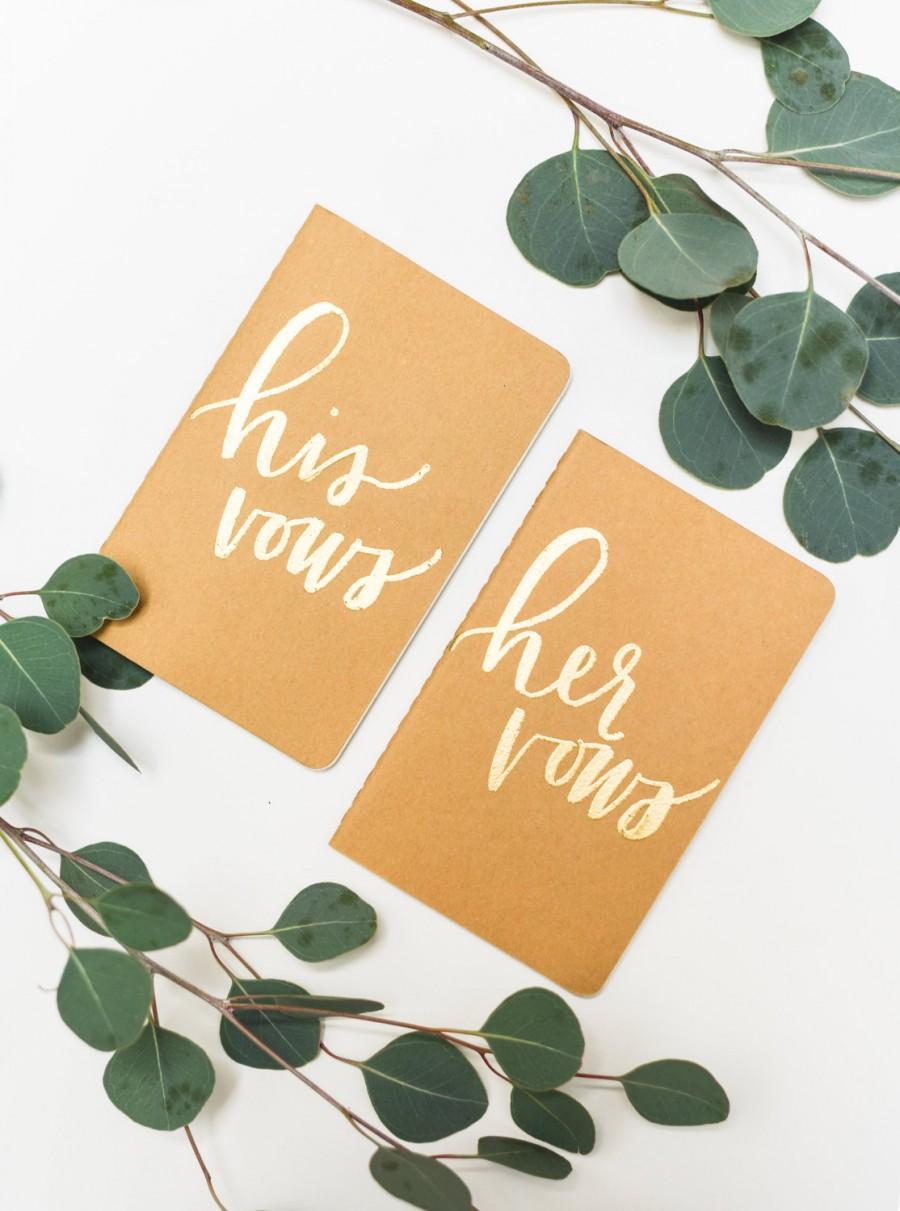 Hochzeit - Hand Embossed Wedding Vow Books