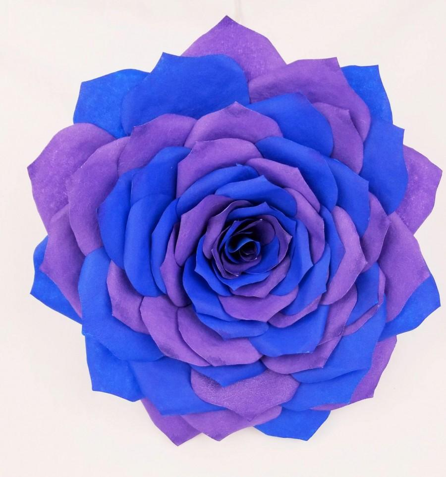 Big 11 paper rose giant wall flower colors can be customized big 11 paper rose giant wall flower colors can be customized multi color flower giant rose nursery flower wall decor backdrop flower 3500 usd amipublicfo Image collections