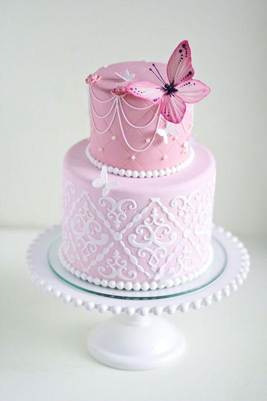Свадьба - Butterfly Cake