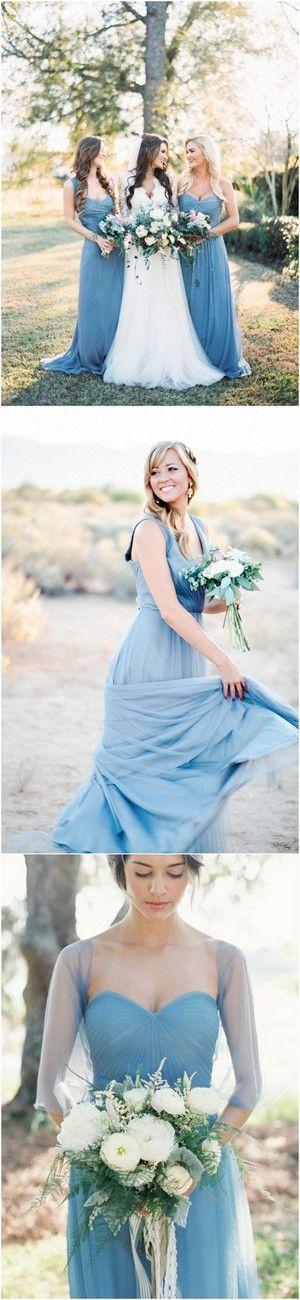 Wedding - 24 Brilliant Dusty Blue Wedding Color Ideas