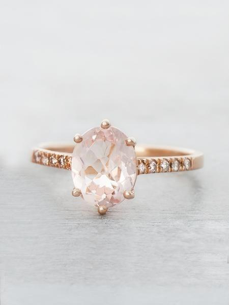 Mariage - Pink Morganite Marietta Ring
