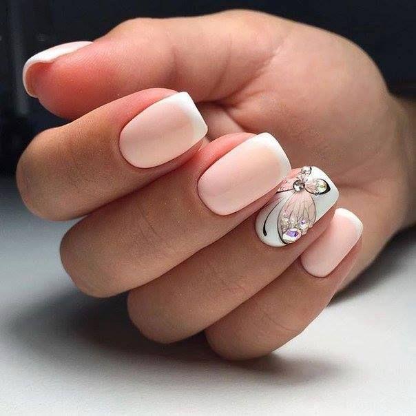 زفاف - 60 Nail Art Ideas To Make You Look Trendy And Stylish