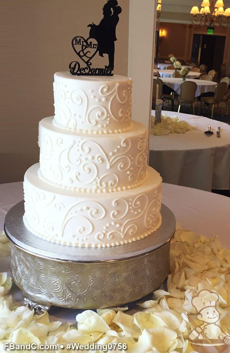 Wedding Cake Designs Buttercream : Cake - Buttercream Wedding Cakes #2728363 - Weddbook