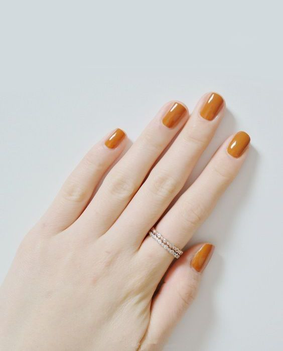 Wedding - Orange Nail Polish