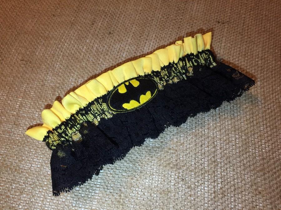 Свадьба - Batman Wedding Garter