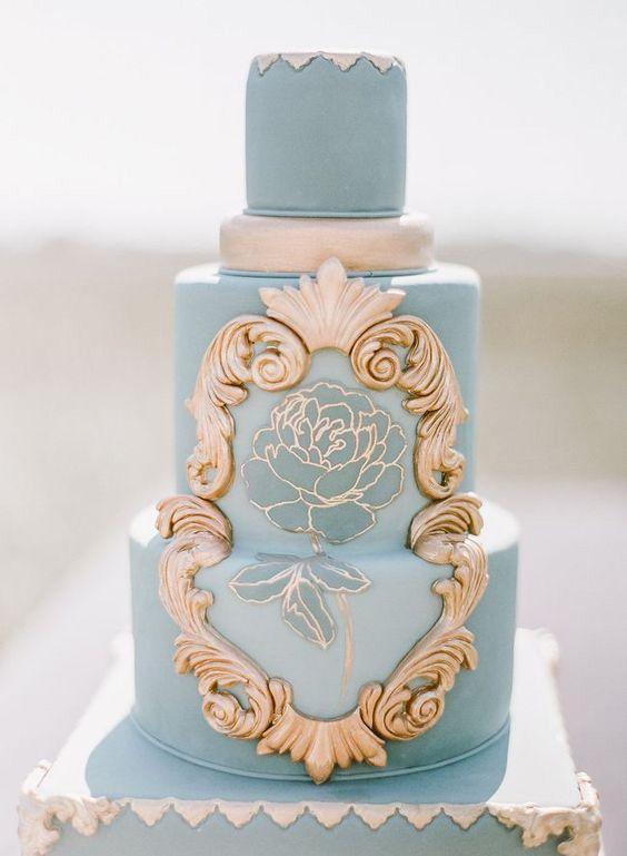 Wedding - Hand Painted Wedding Cakes