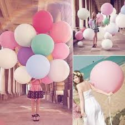 Свадьба - 15 Colors - 36 inch Jumbo Latex Balloons Wedding Birthday Prom Party Decoration Supplies Centerpieces Reception Baby Shower Floated w Helium