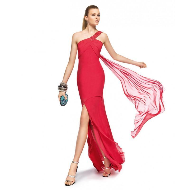 Mariage - Pronovias 2017 Cocktail Dress Style Zambia - Rosy Bridesmaid Dresses