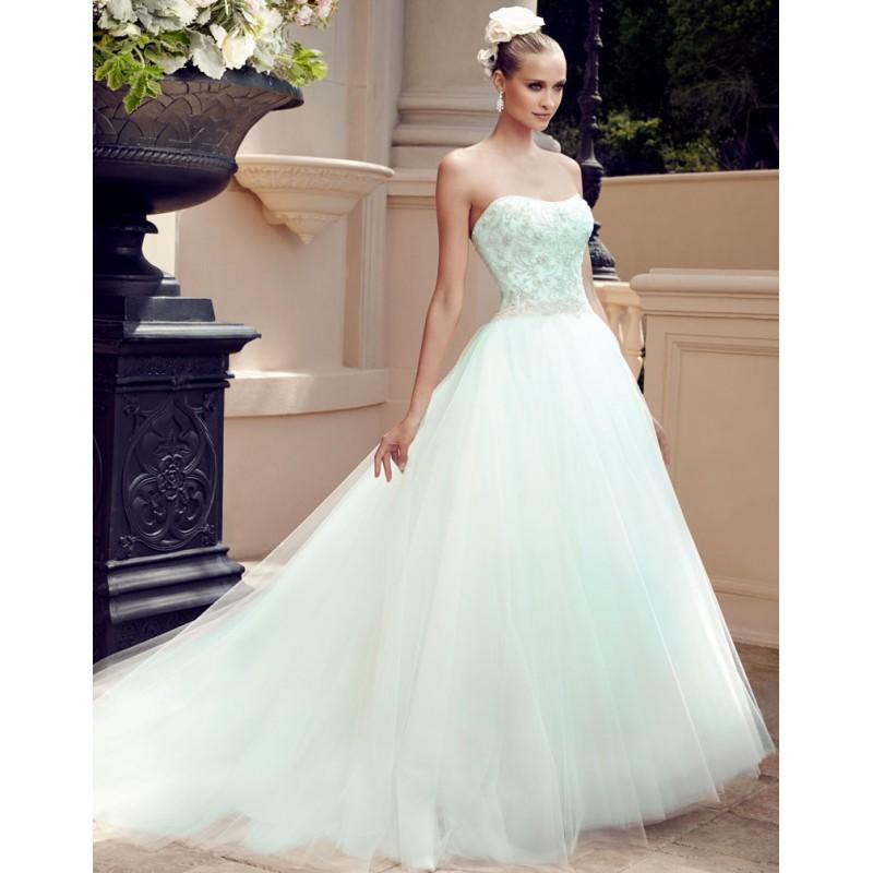 Mariage - Casablanca Bridal 2188  Spring 2015 -  Designer Wedding Dresses