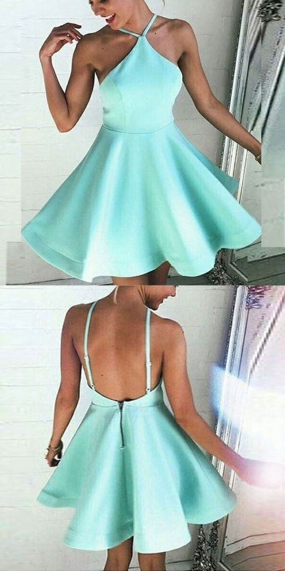 Wedding - Short Homecoming Dresses,mint Green