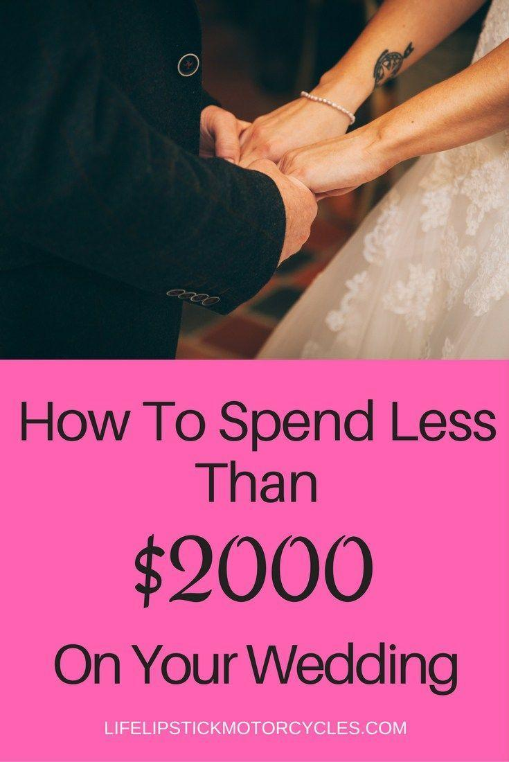 Свадьба - How To Plan A Wedding For Under $2000