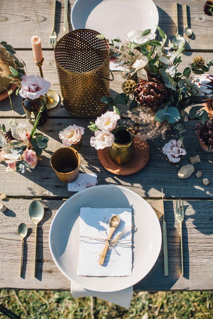 Wedding - Wooden Table Decor
