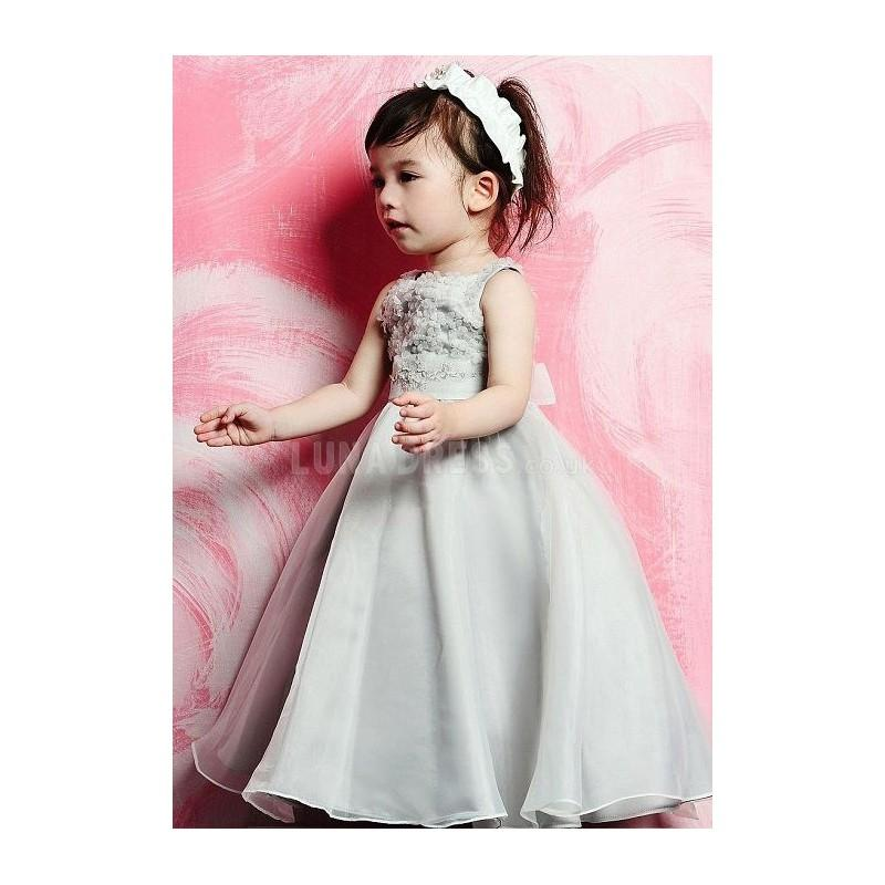 Hochzeit - Informal Empire Organza Floor Length Ball Gown First Communion Dresses - Compelling Wedding Dresses