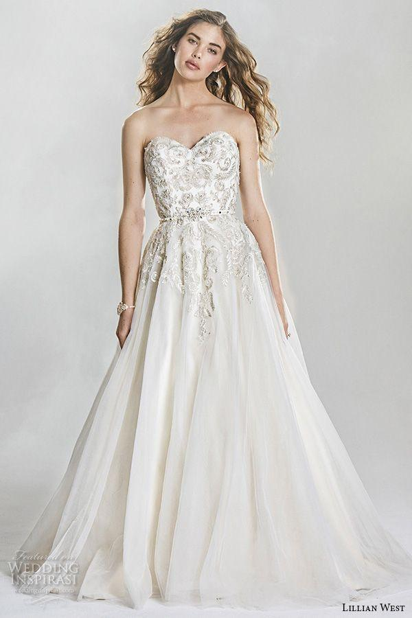 Wedding - Lillian West Spring 2016 Wedding Dresses