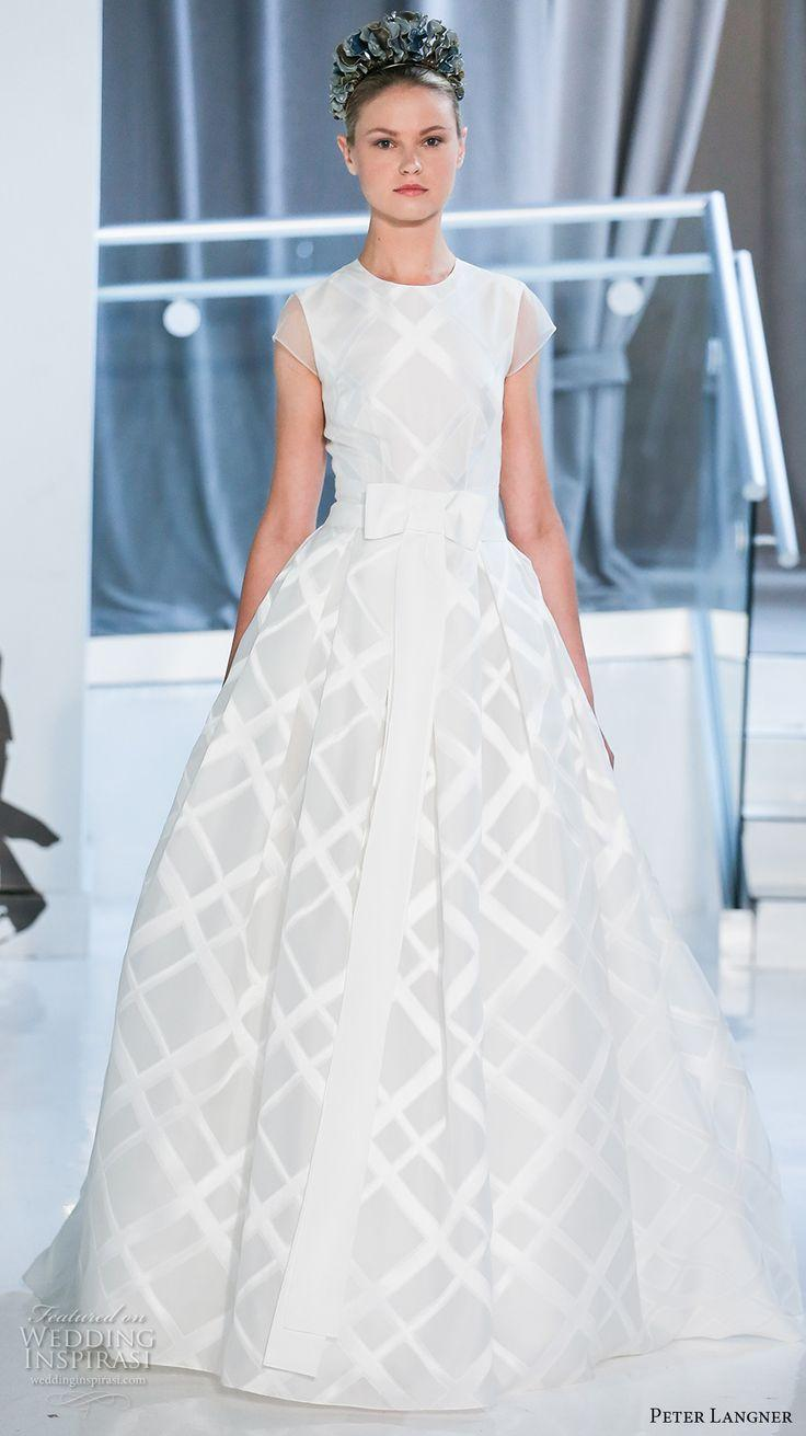 Peter Langner Spring 2018 Wedding Dresses New York Bridal Fashion