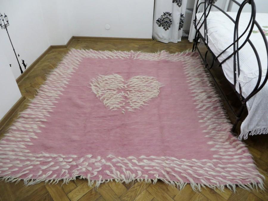 Pink Rug,Toddler Girl Room Rug,Wedding Rug,Handwoven Rug ...