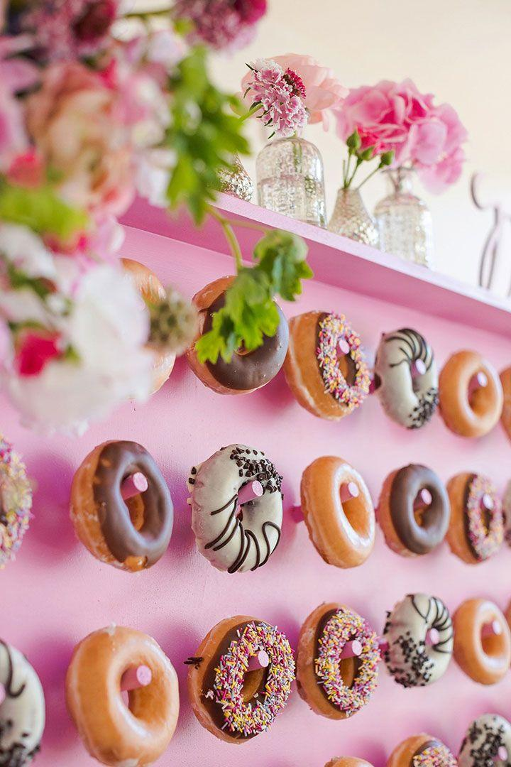 Wedding - 9 DIY Donut Wall Ideas You'll Want To Steal