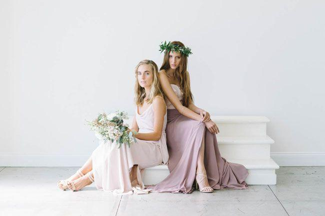 Wedding - Mismatched Bridesmaid Style From Joanna August