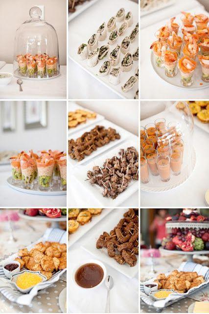Düğün - Amo Muito Tudo Isso!!!: Finger Food Buffet Ideas