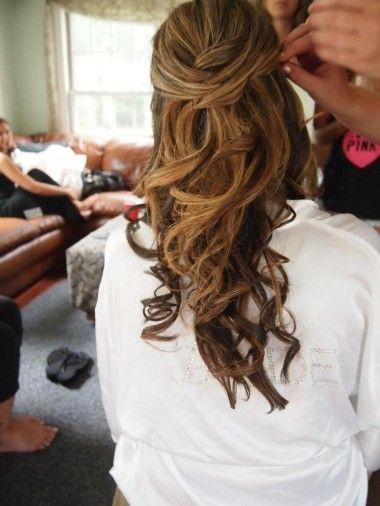 Hochzeit - Wedding Hairstyles 2014 - Dreamy Down 'dos