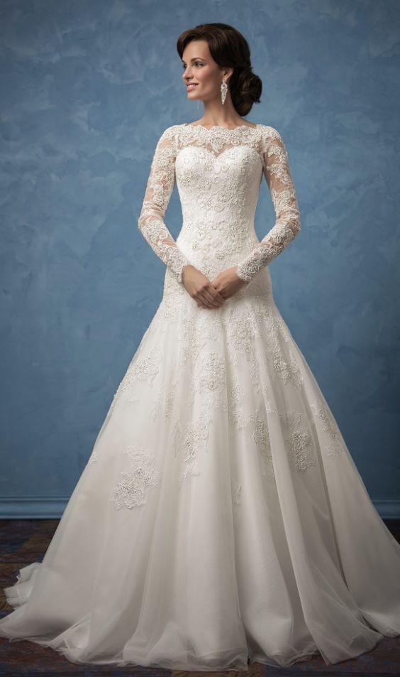 Hochzeit - Glamorous 2017 Amelia Sposa Wedding Dresses