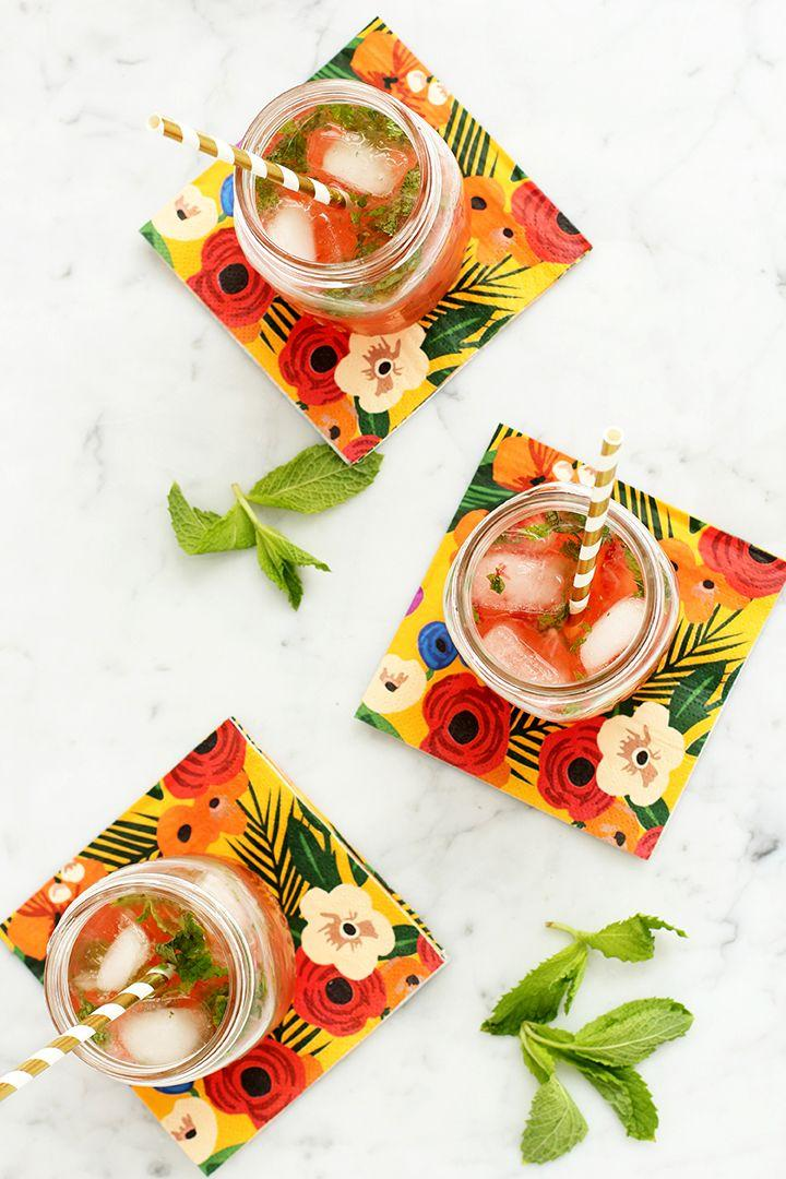 Wedding - Strawberry Mojito