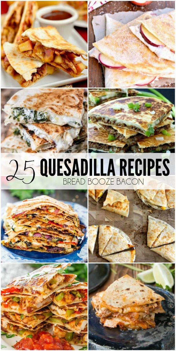 Wedding - 25 Quesadilla Recipes