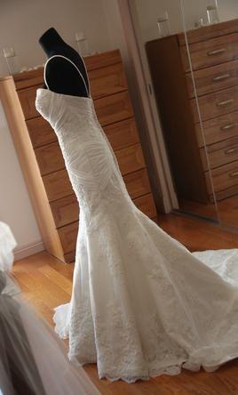 Hochzeit - Allure Bridals 8867, $375 Size: 4