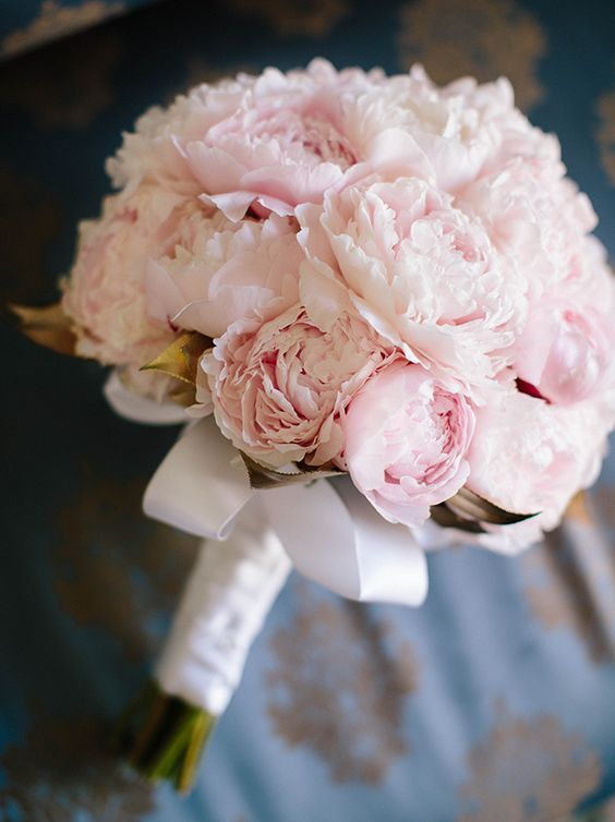 Wedding Theme - Pink Peonies Wedding Bouquet #2731917 - Weddbook