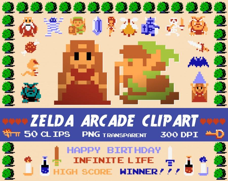 Zelda digital clipart arcade games clipart legends of zelda party zelda digital clipart arcade games clipart legends of zelda party gamer party birthday invitation scrapbooking printable party png stopboris Gallery