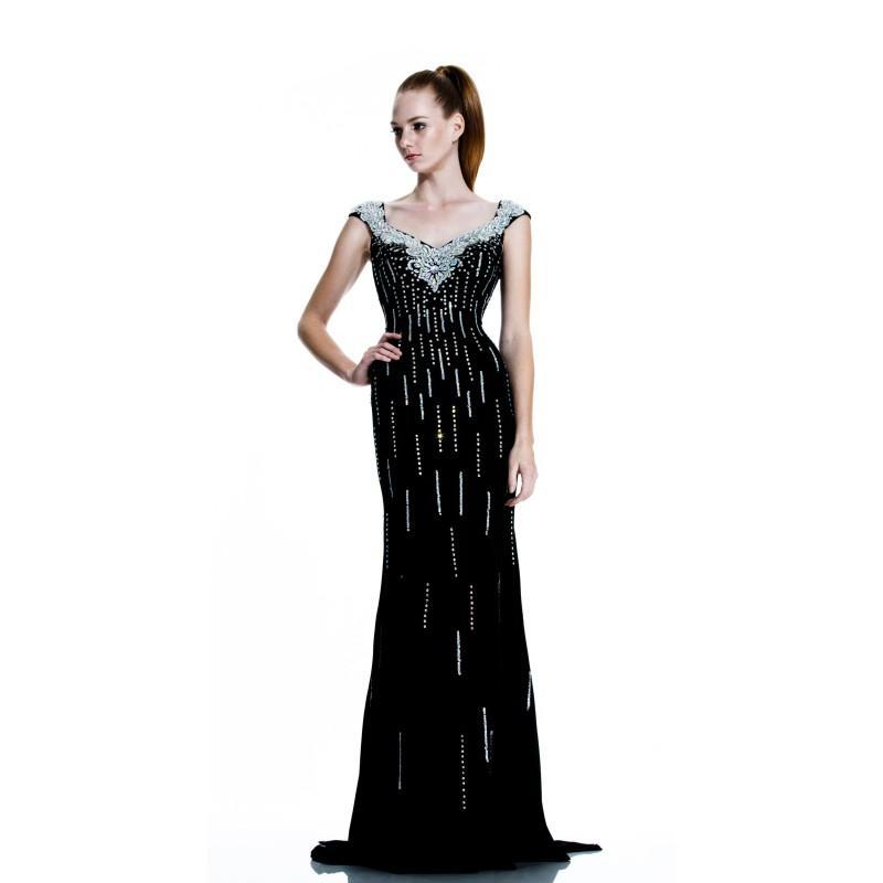 Hochzeit - Black Johnathan Kayne 519 - Customize Your Prom Dress