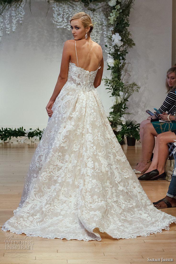 "Mariage - Sarah Jassir 2017 Wedding Dresses — ""The Secret Garden"" Bridal Collection"
