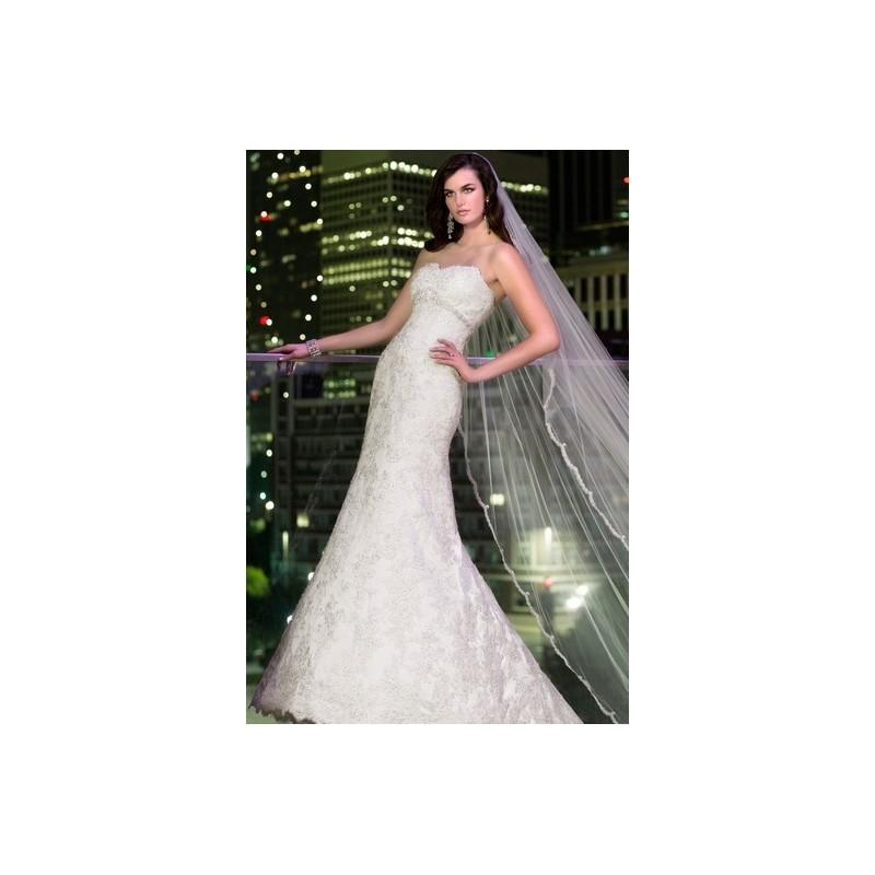 Wedding - Essense D1398 - A-Line Full Length Essense of Australia Spring 2014 Ivory Strapless - Nonmiss One Wedding Store